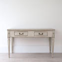 HANDSOME SWEDISH GUSTAVIAN DESK OR CONSOLE TABLE - picture 2