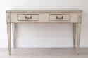 HANDSOME SWEDISH GUSTAVIAN DESK OR CONSOLE TABLE - picture 3