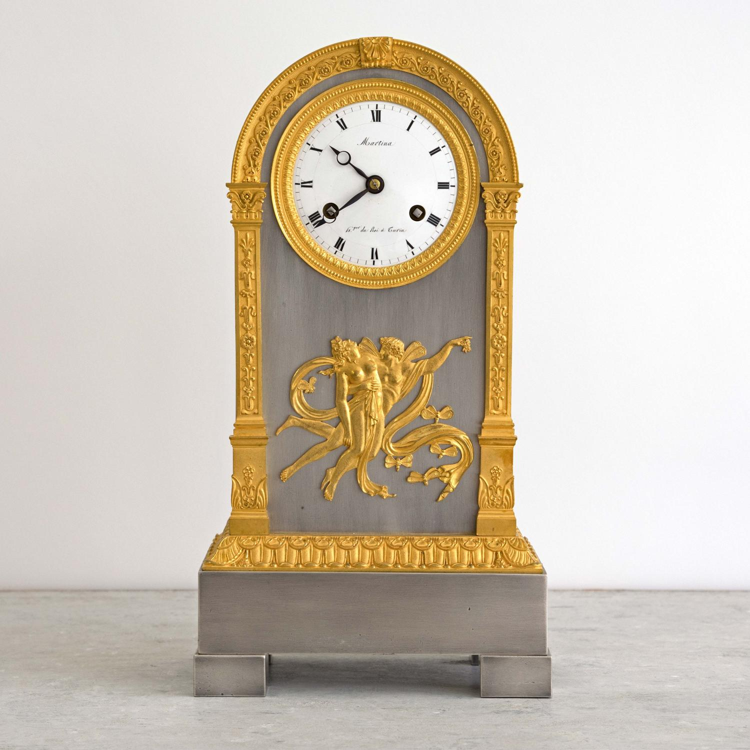 EMPIRE MANTLE CLOCK BY MARTINA