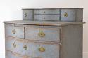 SWEDISH BAROQUE SERPENTINE CHEST WITH DESK SLIDE - picture 4