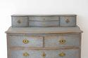 SWEDISH BAROQUE SERPENTINE CHEST WITH DESK SLIDE - picture 6