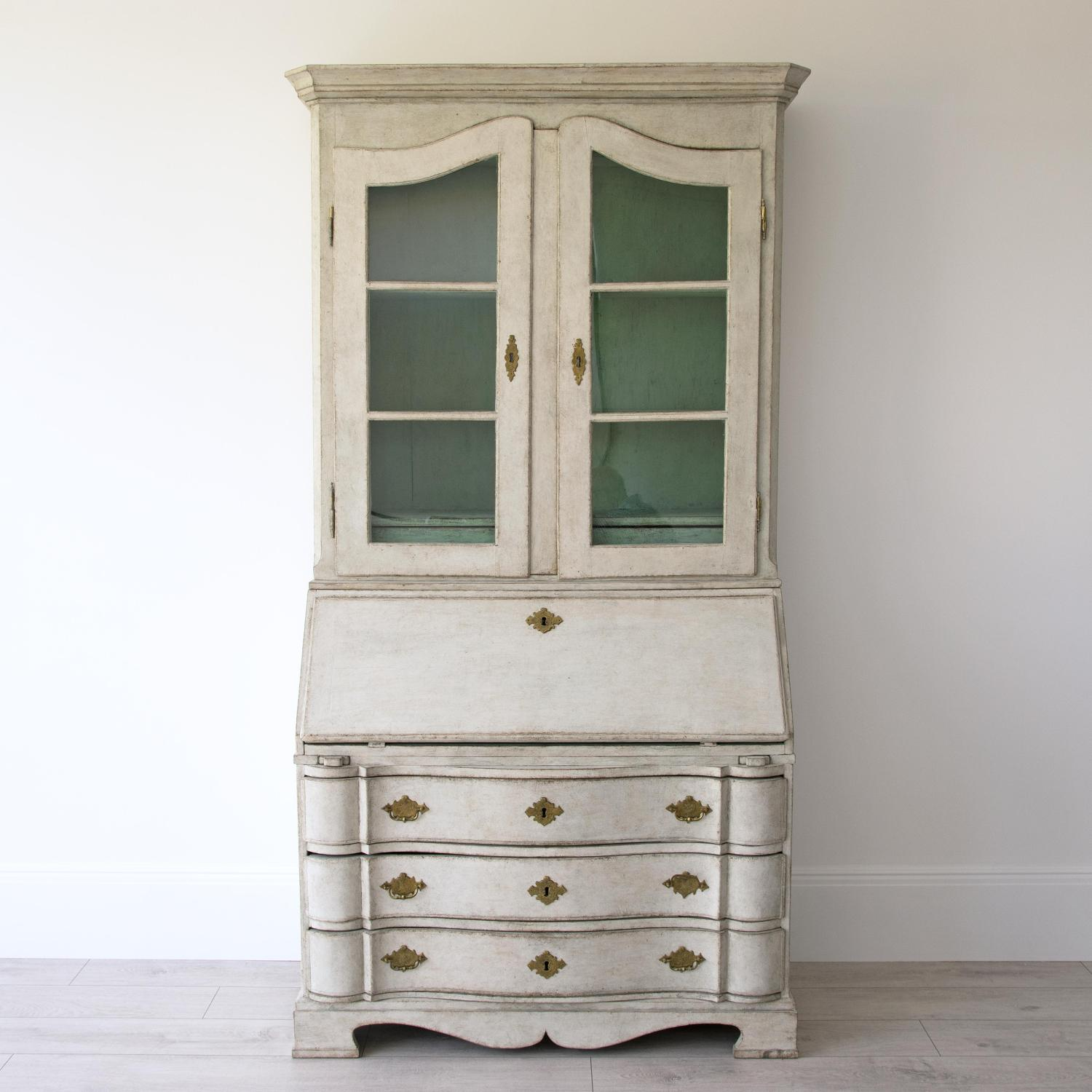 MAJESTIC SCANDINAVIAN BAROQUE SECRETAIRE