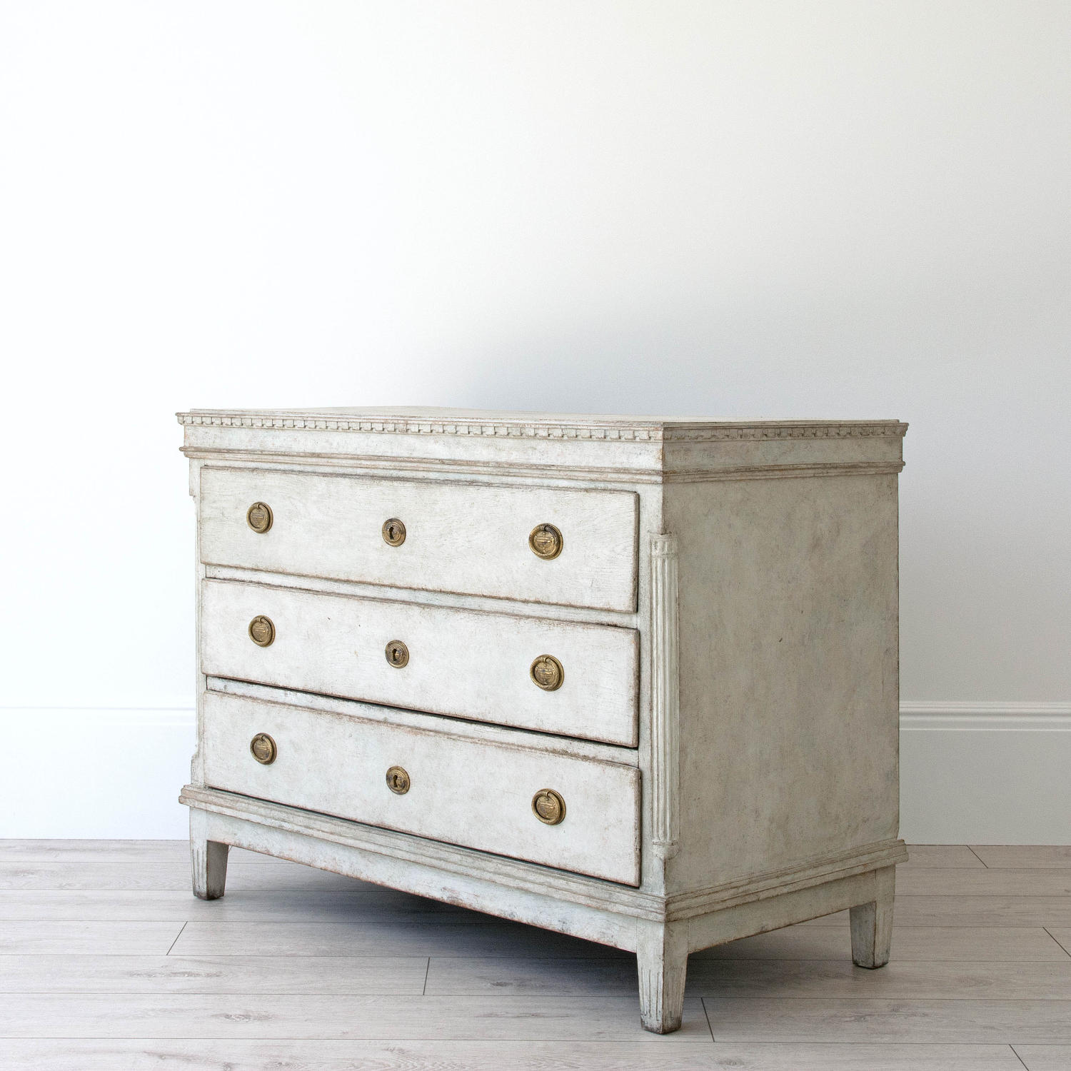 VERY FINE GUSTAVIAN PERIOD SCANDINAVIAN CHEST