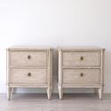 PAIR OF LATE 19TH CENTURY SWEDISH BEDSIDE CHESTS - picture 1