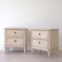 PAIR OF LATE 19TH CENTURY SWEDISH BEDSIDE CHESTS - picture 2