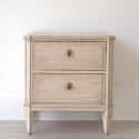PAIR OF LATE 19TH CENTURY SWEDISH BEDSIDE CHESTS - picture 3
