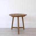 RARE 18TH CENTURY RUSTIC OAK CRICKET TABLE - picture 3