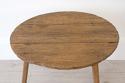 RARE 18TH CENTURY RUSTIC OAK CRICKET TABLE - picture 6