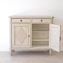 RICHLY CARVED SWEDISH GUSTAVIAN BUFFET - picture 3