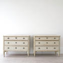 BEAUTIFUL PAIR OF SWEDISH GUSTAVIAN STYLE CHESTS - picture 2