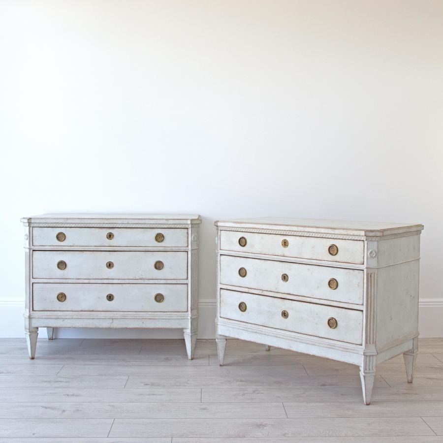 GUSTAVIAN STYLE CHESTS