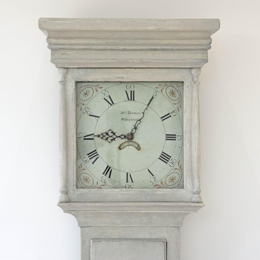 WONDERFUL 18TH CENTURY GEORGE III LONG CASE CLOCK