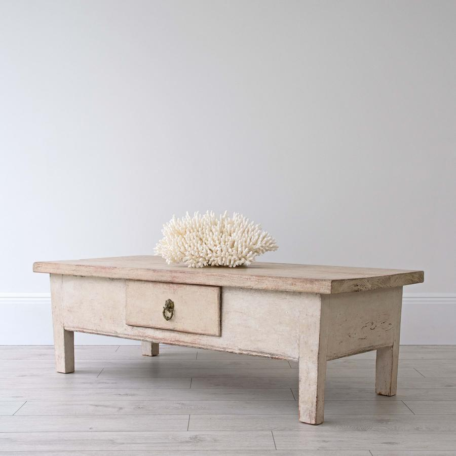 SWEDISH FARMHOUSE COFFEE TABLE