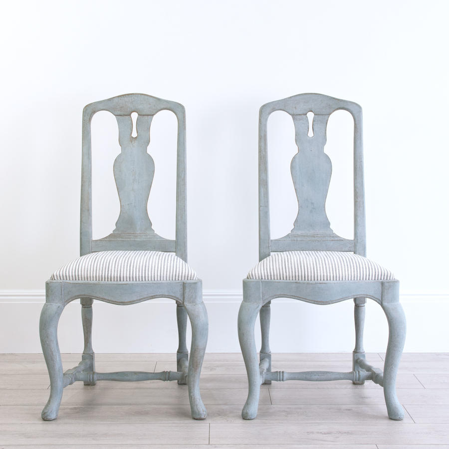SWEDISH BAROQUE CHAIRS