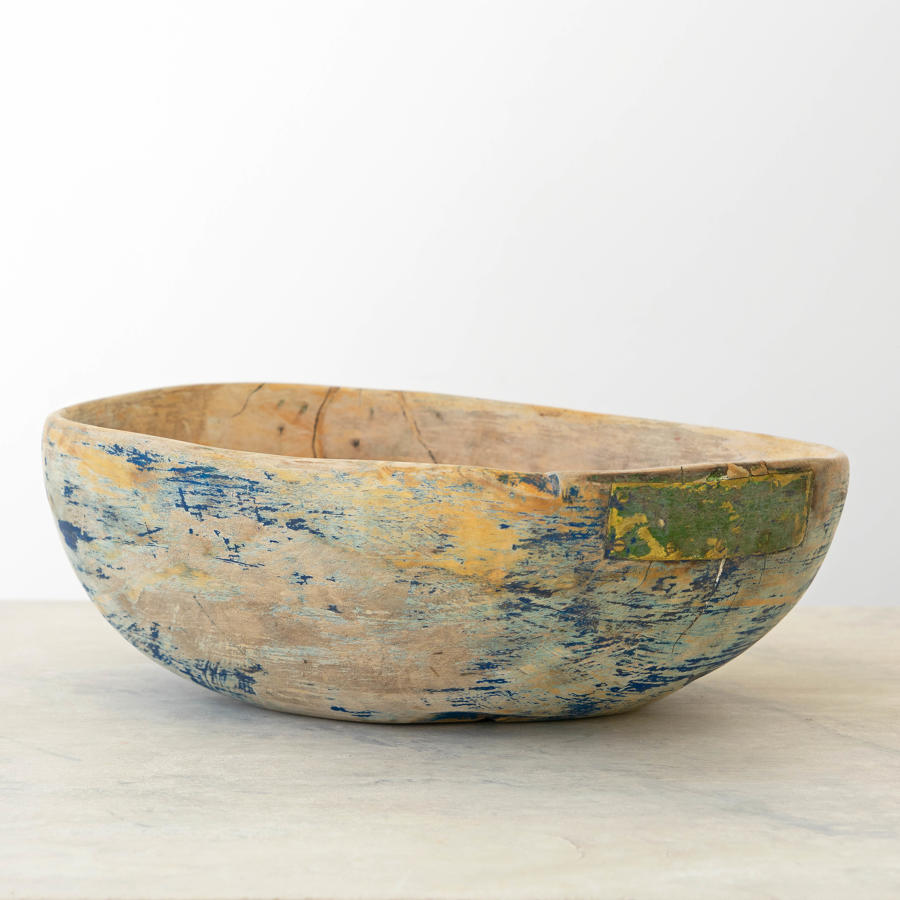 BLUE SWEDISH ROOT BOWL