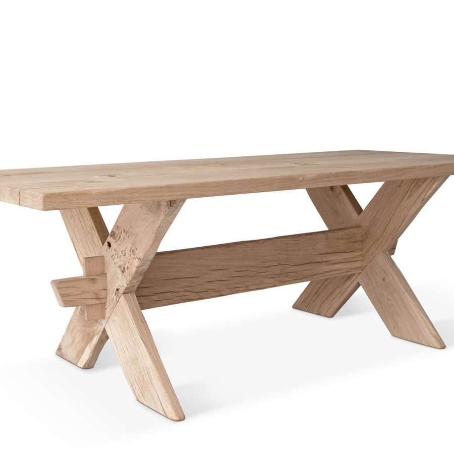NORSE OAK TRESTLE TABLE