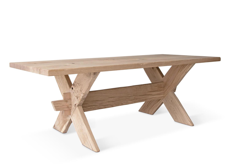 NORSE OAK TRESTLE TABLE