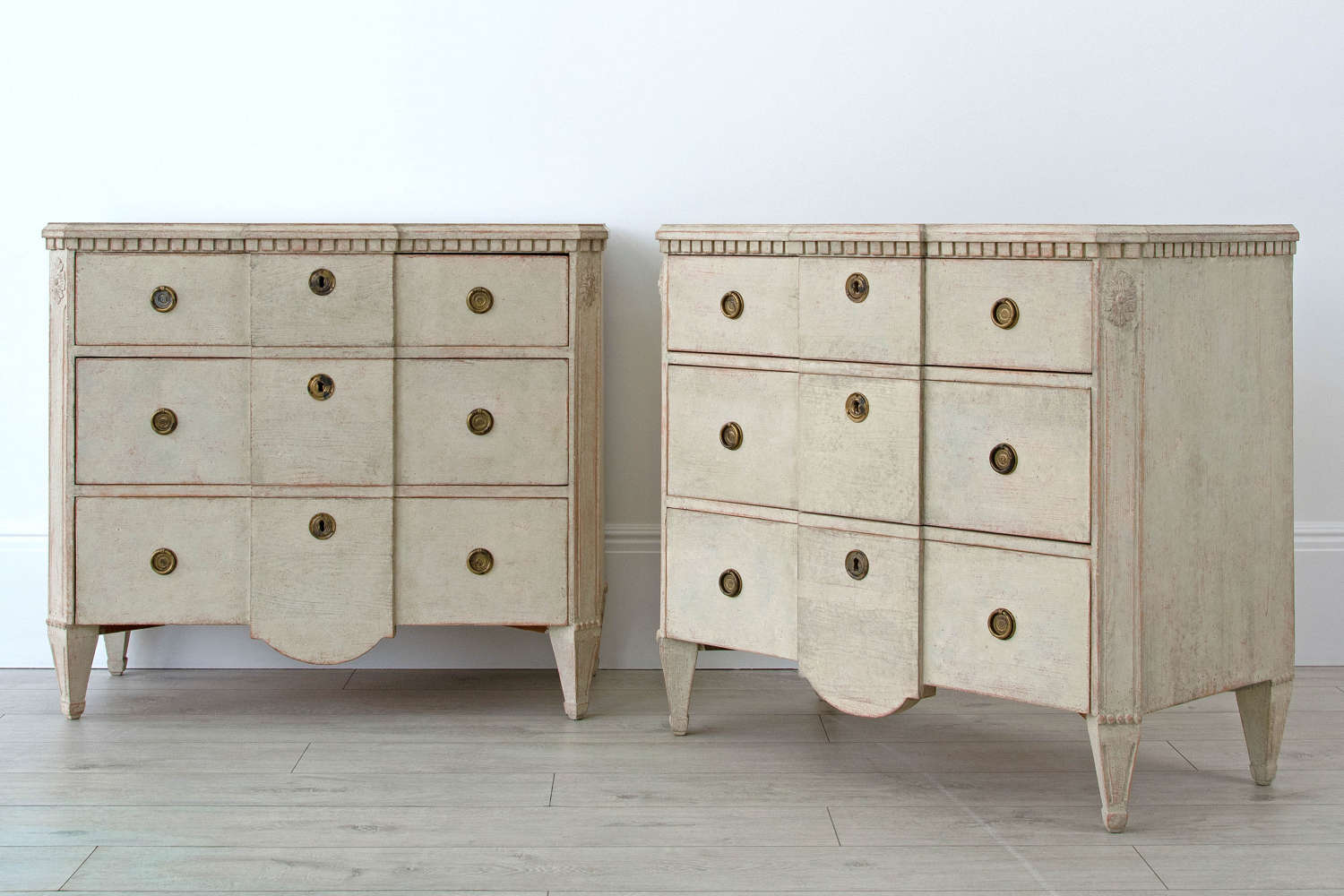 SWEDISH BEDSIDE CHESTS