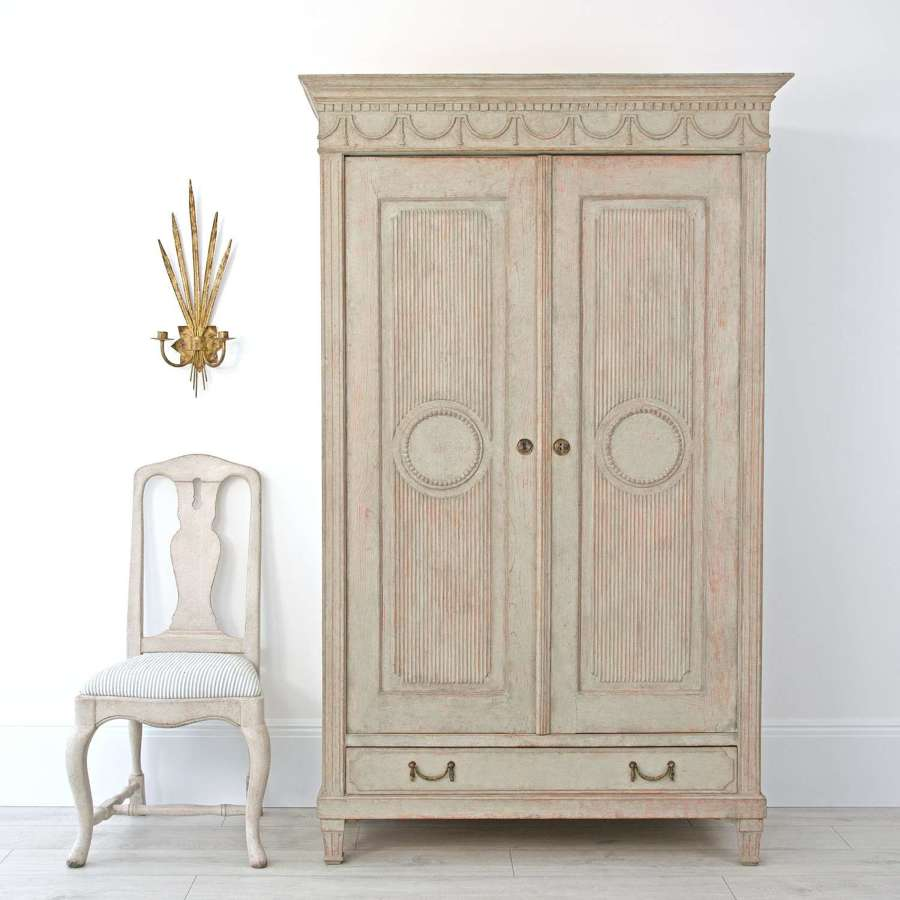 SWEDISH GUSTAVIAN ARMOIRE