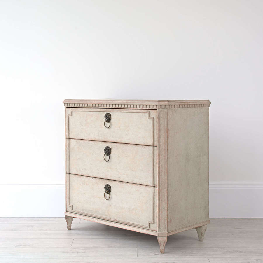 SWEDISH GUSTAVIAN CHEST