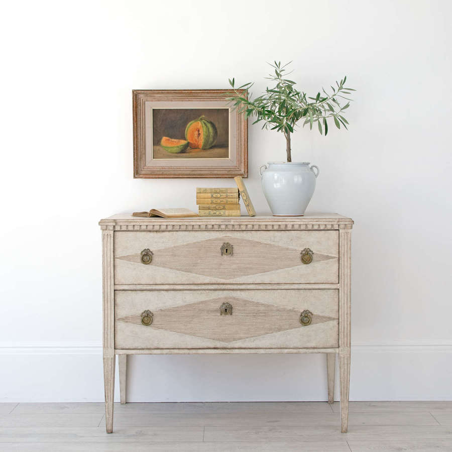 SWEDISH GUSTAVIAN STYLE CHEST